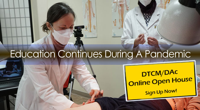 DTCM Online Open House