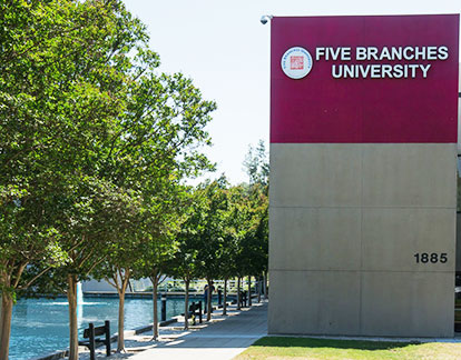 Five Branches University San Jose Campus building