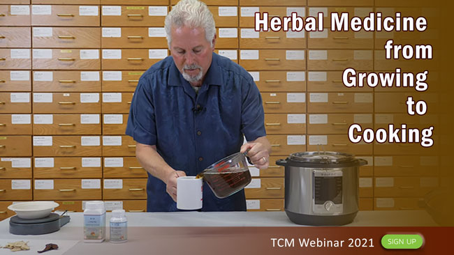 TCM Webinar: Herbal Medicine from Growing to Cooking